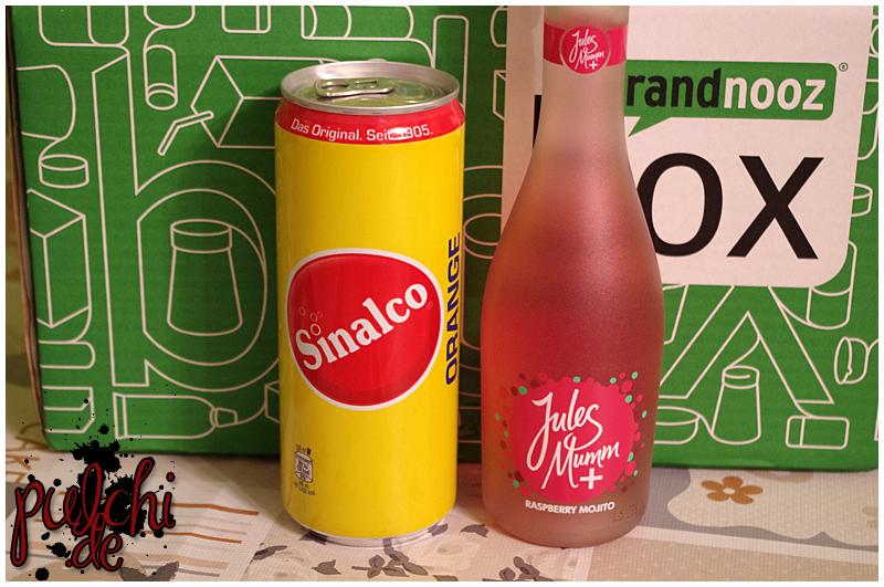 "Sinalco Orange || Jules Mumm Plus ""Raspberry Mojito"""