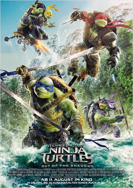 Teenage Mutant Ninja Turtles 2 ~ Out Of The Shadows