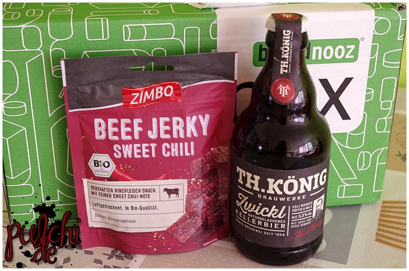 "ZIMBO Beef Jerky ""Sweet Chili"" || Th. König Zwickl"