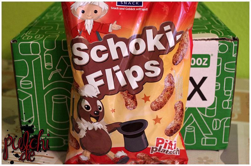 XOX Pittiplatsch Schoki-Flips