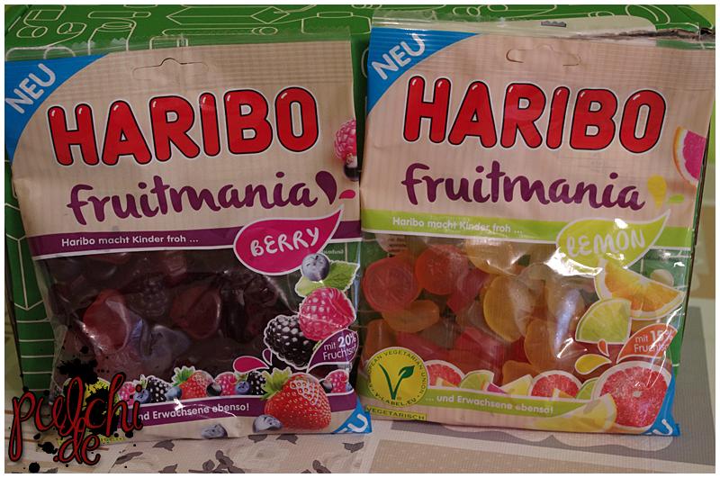 "HARIBO Fruitmania ""Berry"" || HARIBO Fruitmania ""Lemon"""