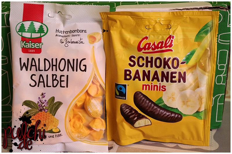 Bonbonmeister® Kaiser Waldhonig Salbei || Casali Schoko-Bananen minis