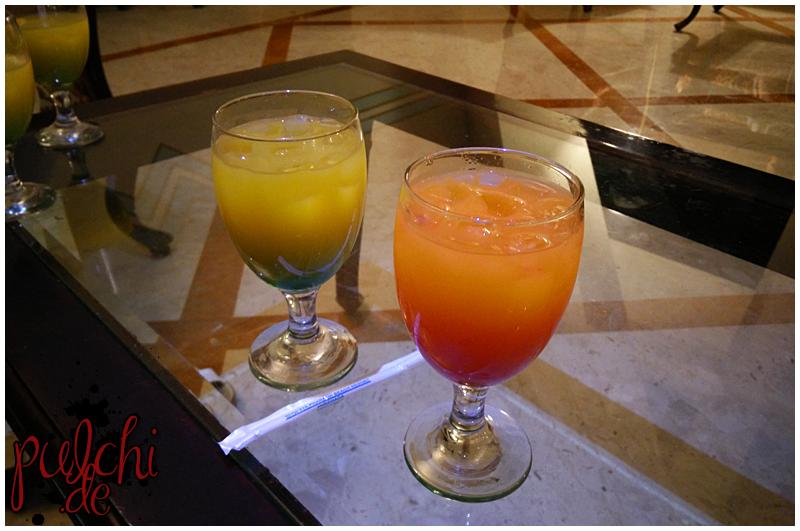 Cocktails - leider kaum genießbar, sehr wässrig
