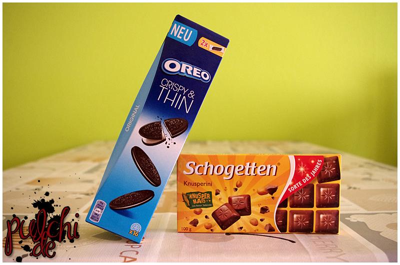 "OREO Crispy & Thin    Schogetten Sorte des Jahres ""Knusperini"""