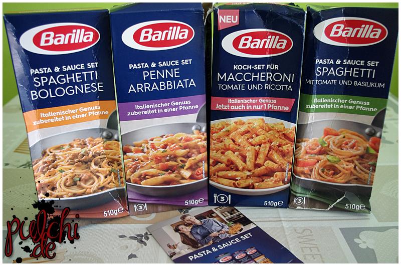 Barilla Pasta & Sauce Set