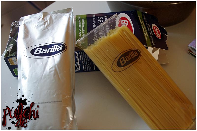 Barilla Pasta & Sauce Set ~ Spaghetti mit Tomate und Basilikum