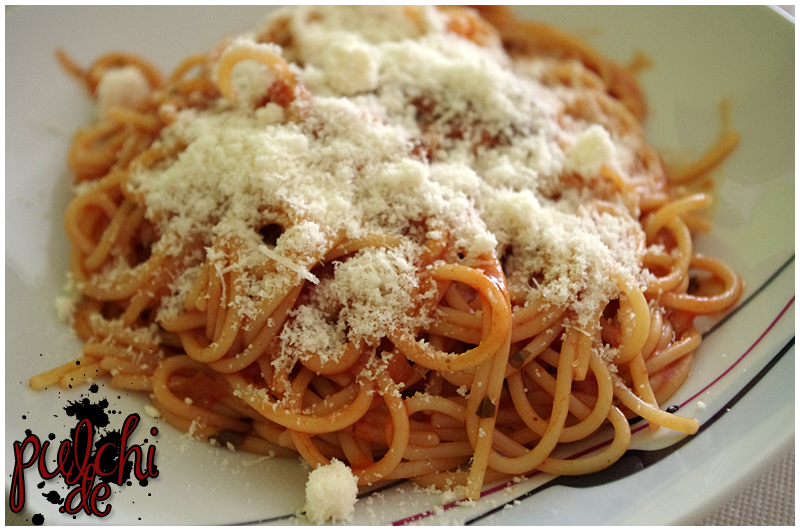#0684 [Review] Barilla Pasta & Sauce Set ~ Spaghetti mit Tomate und Basilikum