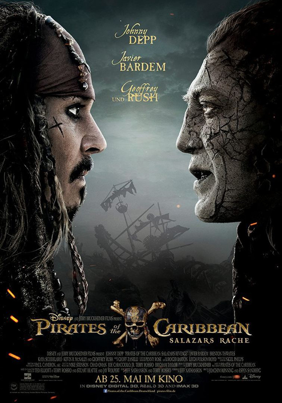 Pirates of the Caribbean ~ Salazars Rache