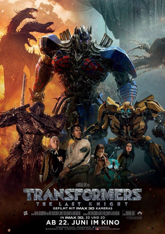 Transformers ~ The Last Knight