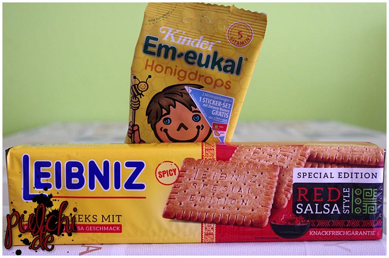 "Kinder Em-eukal Honigdrops || LEIBNIZ Special Edition ""Red Salsa Style"""