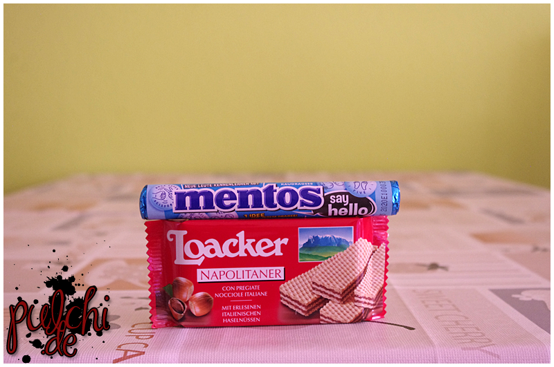 "Mentos Say Hello ""Mint"" 