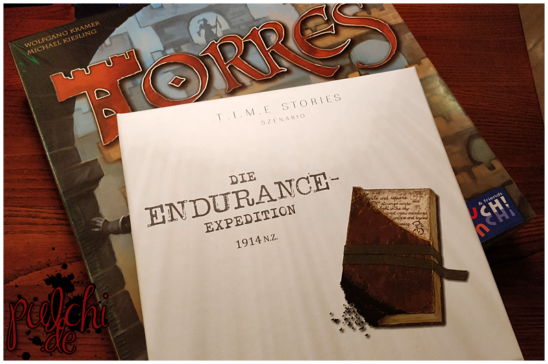 Torres & T.I.M.E Stories ~ Die Endurance Expedition