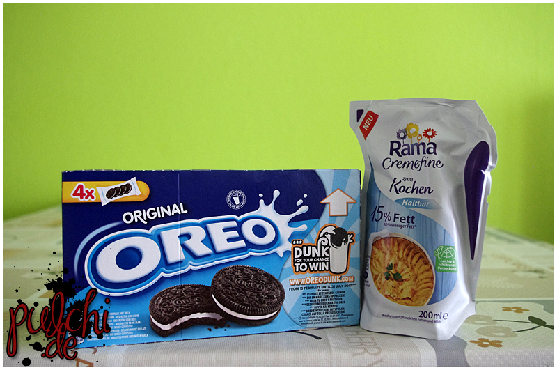 OREO ORIGINAL || Rama Cremefine zum Kochen 15 % Fett haltbar
