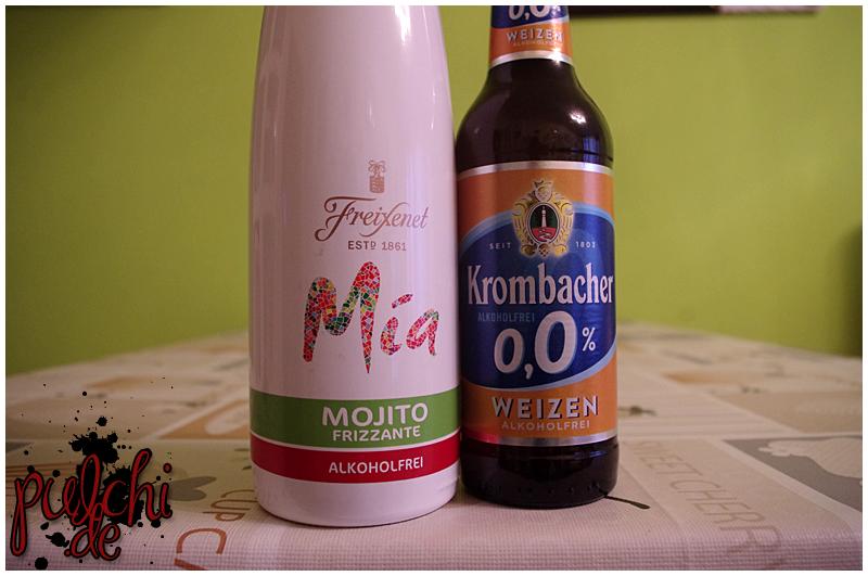Freixenet Mia Mojito Frizzante Alkoholfrei || Krombacher o,0 % Weizen