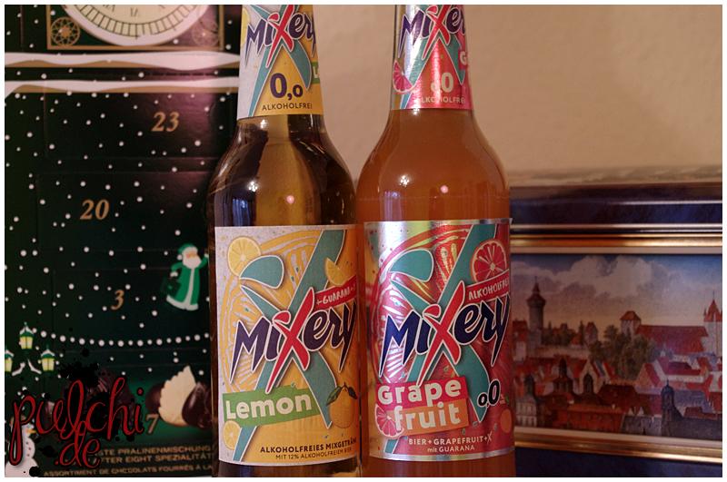 MiXery Alkoholfrei Guarana Lemon || MiXery Alkoholfrei Guarana Grapefruit