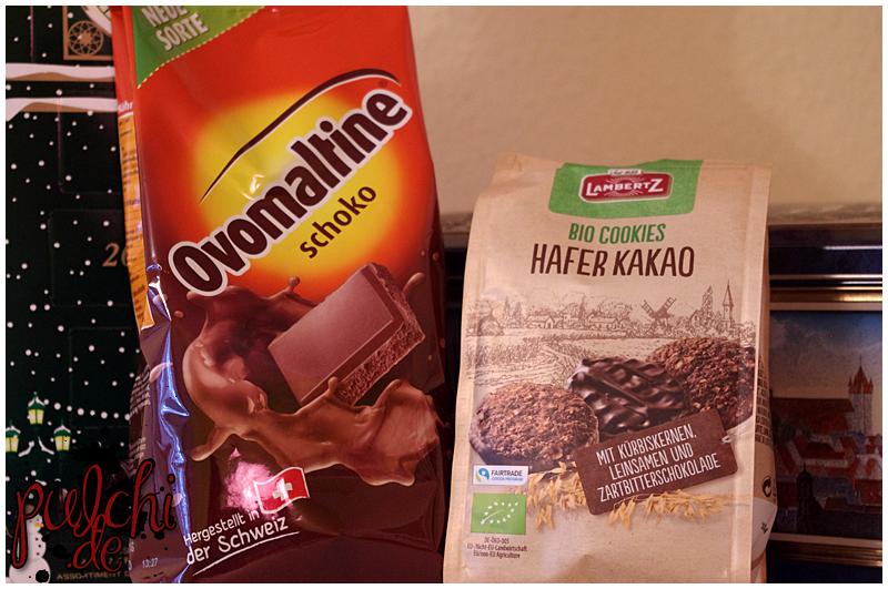 Ovomaltine Schoko Pulver || Lambertz Bio Cookies Hafer Kakao