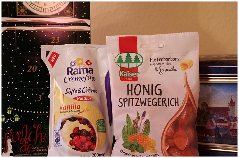Rama Cremefine Soße & Crème haltbar Vanilla || Bonbonmeister® Kaiser Honig Spitzwegerich