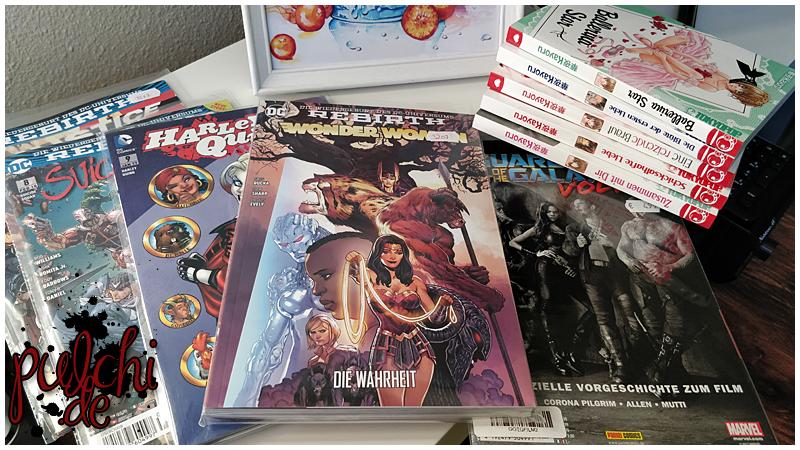 Comic und Manga Loot vom 06.01.2018