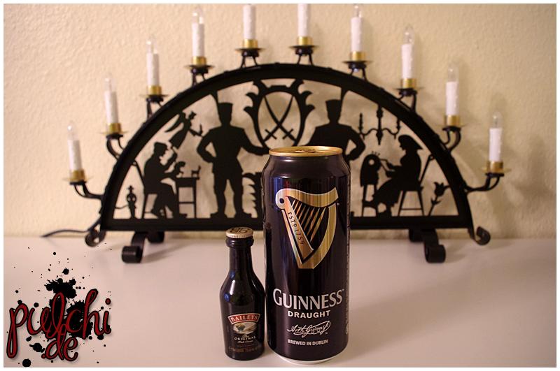 "Baileys ""Original Irish Cream"" || Guinness Draught"