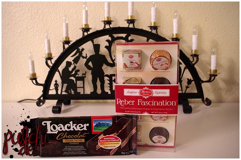 Loacker Chocolat Fondente Dark Noir    Reber Fascination®