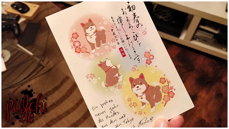 #0750 [Session-Life] Hachiko Postkarte