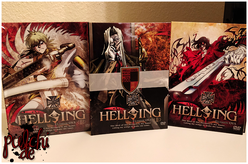 Hellsing Ultimate OVA Vol. 1-3