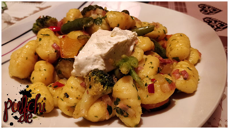 Gnocchi-Gemüse-Pfanne