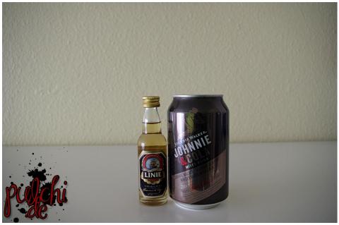 LINIE AQUAVIT || Johnnie Walker Johnnie & Cola