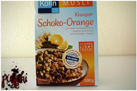 Kölln Müsli Knusper Schoko-Orange