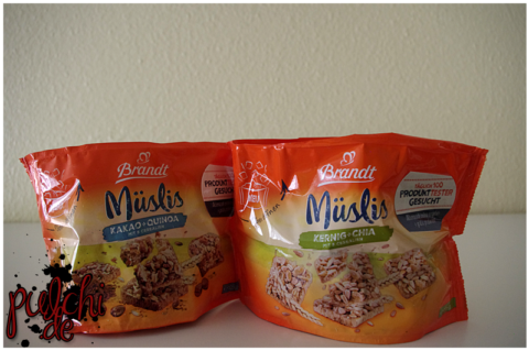 Brandt Müslis Kakao + Quinoa || Brandt Müslis Kernig + Chia