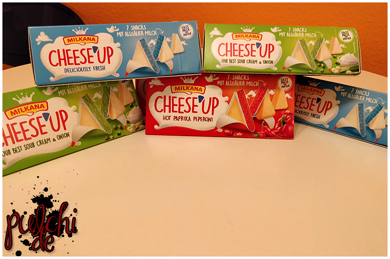 #0796 [Review] brandnooz ~ CHEESE`UP Käsedreiecke