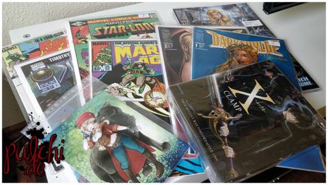 Anime, Comic & Postkarten Loot vom 07.04.2018