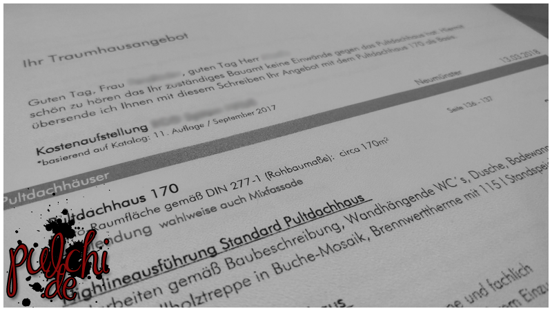 #0805 [Session-Life] Bautagebuch ~ Unterlagen