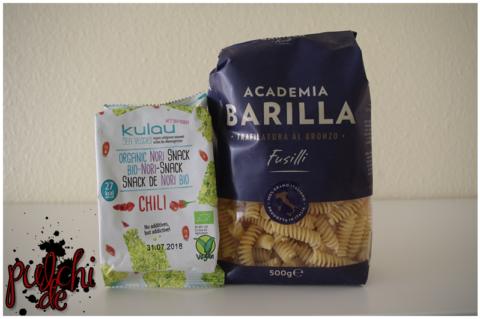 KULAU Bio-Nori-Snack Chili | Academia Barilla Fusilli