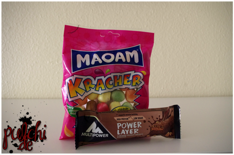 MAOAM Kracher | Multipower Power Layer Peanut Caramel