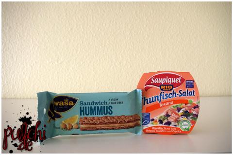 Wasa Sandwich Hummus | Saupiquet Thunfisch-Salat Texana