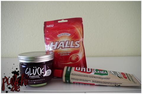 GLÜCK PASSIERT aus Himbeeren || HALLS Strawberry Flavour || ORO di Parma BIO Tomatenmark