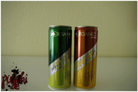 Red Bull ORGANICS Bitter Lemon || Red Bull ORGANICS Ginger Ale
