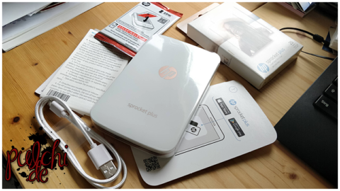HP Sprocket Plus-Drucker & HP ZINK™ Sprocket Plus Fotopapier