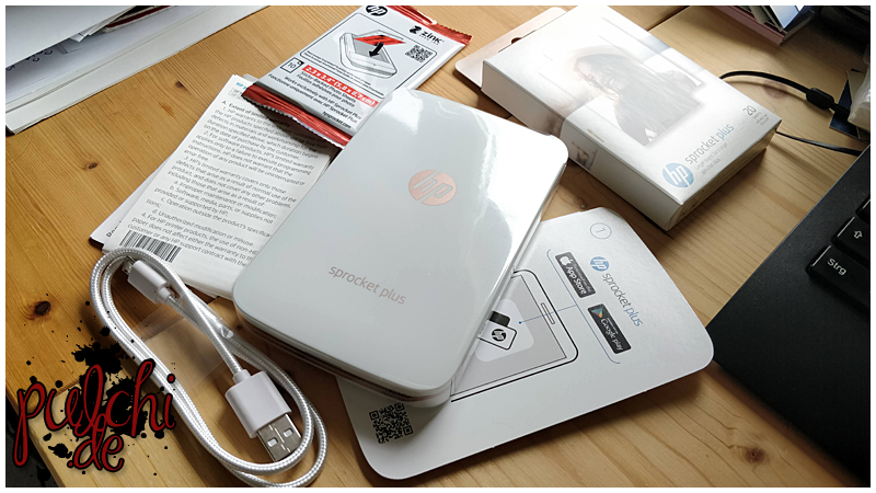 #0822 [Review] HP Sprocket Plus-Drucker & HP ZINK™ Sprocket Plus Fotopapier