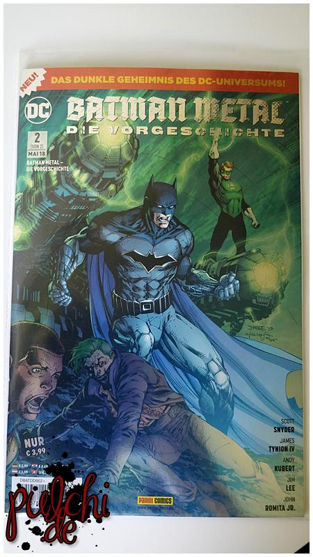 Batman Metal 02 – Die Vorgeschichte