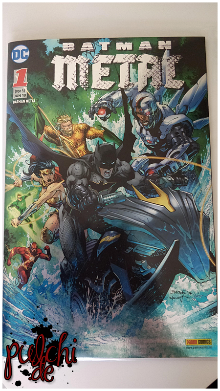 Batman Metal 1 - Variant
