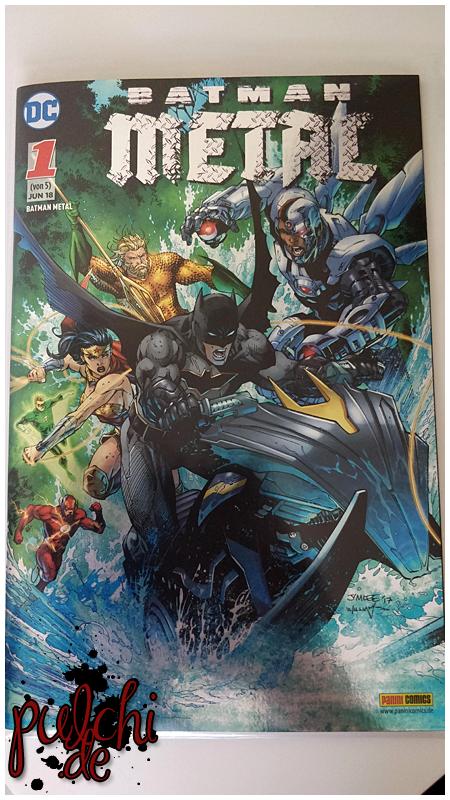 Batman Metal 1 - Variant