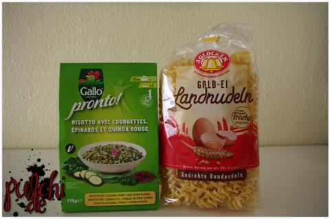 Riso Gallo pronto! Zucchini || 3 GLOCKEN Gold-Ei Landnudeln