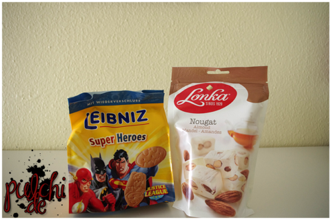 LEIBNIZ Super Heroes || Lonka Nougat Mandel