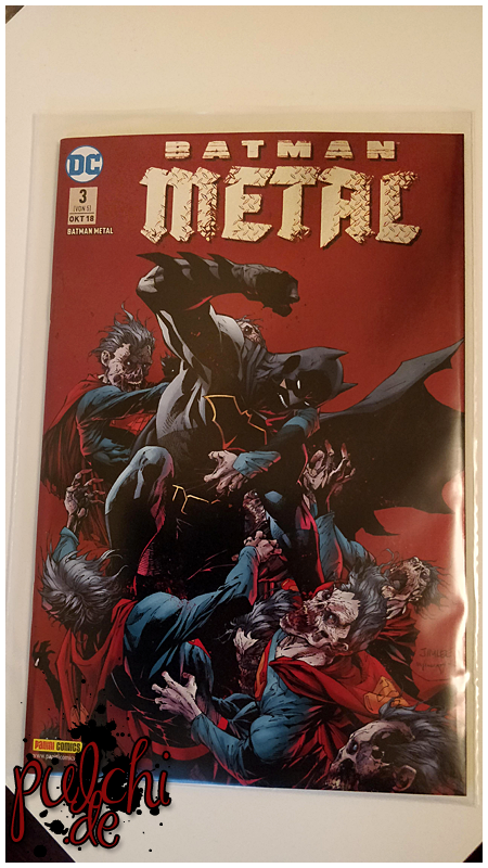 Batman Metal 3 - Variant 1