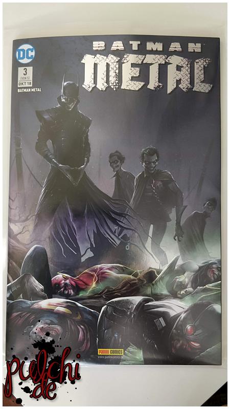 Batman Metal 3 - Variant 2