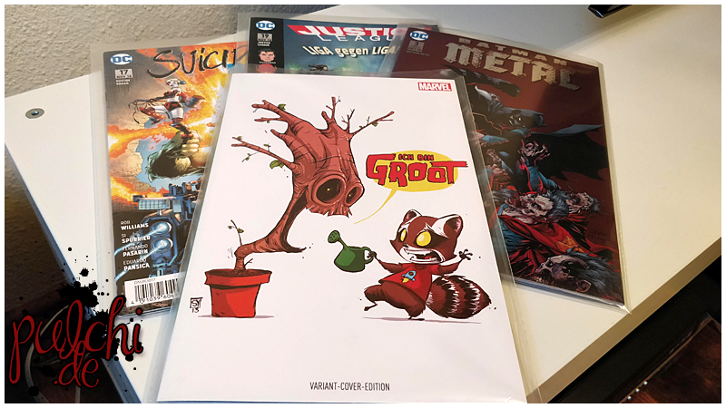 #0834 [Session-Life] Comic Loots vom 01.09.2018 – 01.10.2018
