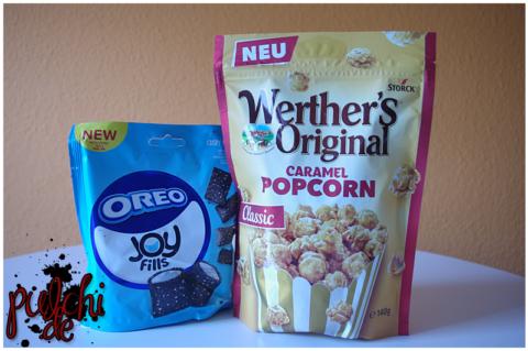 OREO Joyfills || Werther's Original Caramel Popcorn