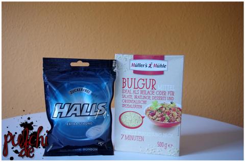 HALLS Extra Strong || Müller´s Mühle Bulgur